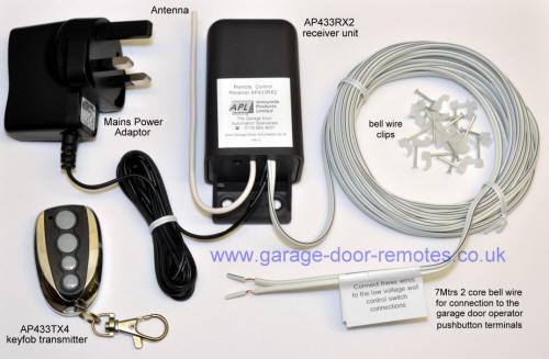 merlin garage door remote control instructions